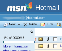 Casilla de Hotmail