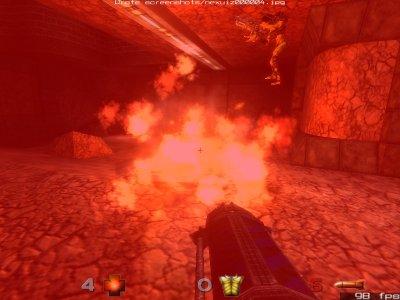 Nexuiz posee excelentes efectos de explosiciones