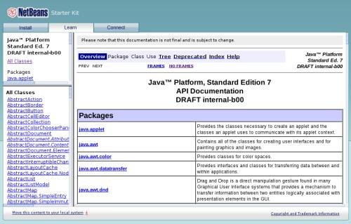 Java 7 API