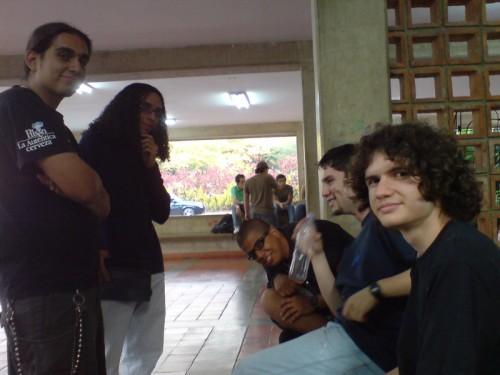 Cristian, Yondrix, Alexs, Skatox y ErGocho
