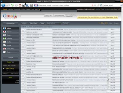 Gmail Negro