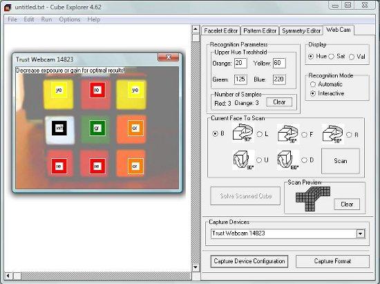 Programa para resolver cubo de Rubik