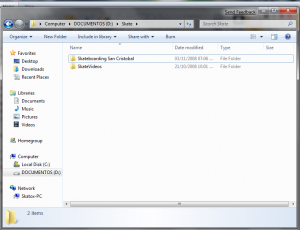 Windows Explorer en WIn7