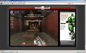 Quake Live corriendo dentro del navegador