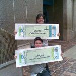Gabriela y Miguel ganadores del concurso