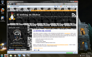 Firefox 3.5 con total apariencia de Aero