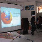 Maedca hablando sobre Mozilla Venezuela