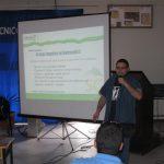 Eduardo Briceño hablando del RefreshSC