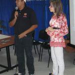Maedca con la representante de Digial City