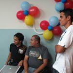 Los demas ponentes: Miguel, Manuel y Pedro