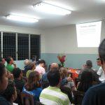 Pedro y su presentación sobre GIMP