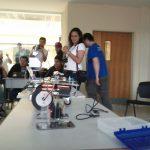 Robot que bailaba breakdance