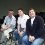 Con Ernesto y Jorge Castellanos