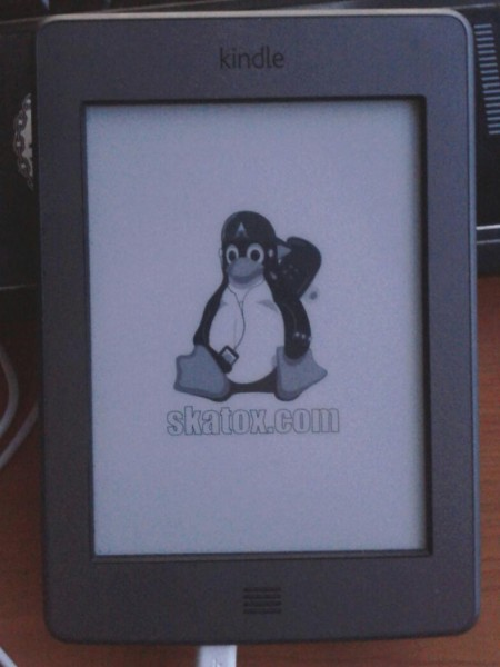 Kindle Touch con mi logo