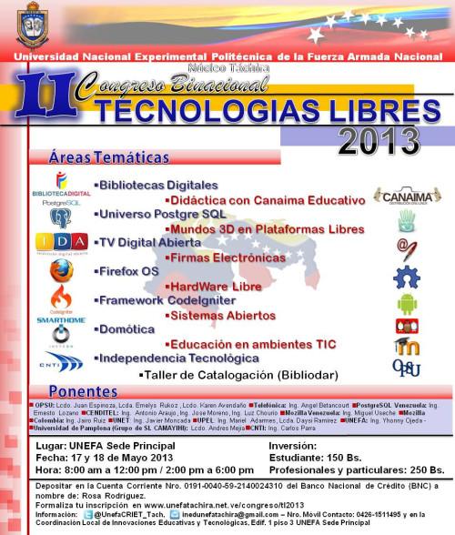 2do Congreso Binacional de Tecnologías Libres