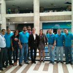 Parte del equipo de Mozilla Venezuela, Mozilla Argentina y Mozilla Foundation