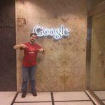 En las oficinas de Google promocionando Mozilla