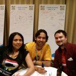 Con otros Mozilleros latinoamericanos