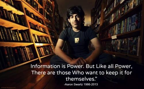 Información es poder, pero como todo poder hay quienes desean quedarsela para si mismos