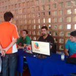Estand de Mozilla Venezuela