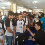 Reclutando a los organizadores del evento