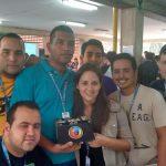 Estudiantes de oriente promocionando Firefox