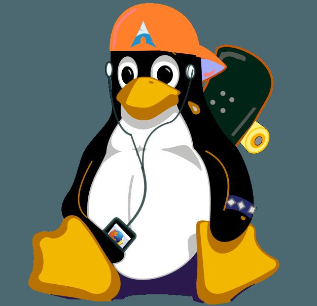 Skatux: el pinguino de mi blog