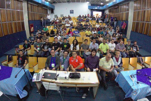 Asistentes del FLISOL 2016, foto cortesía de Maria Leandro