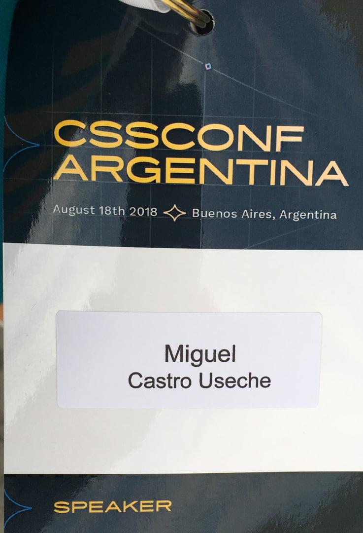 Mi carnet de conferencista