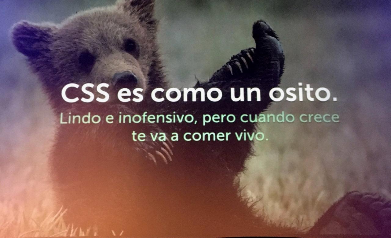 Excelente consejo sobre CSS de Andrés Galante