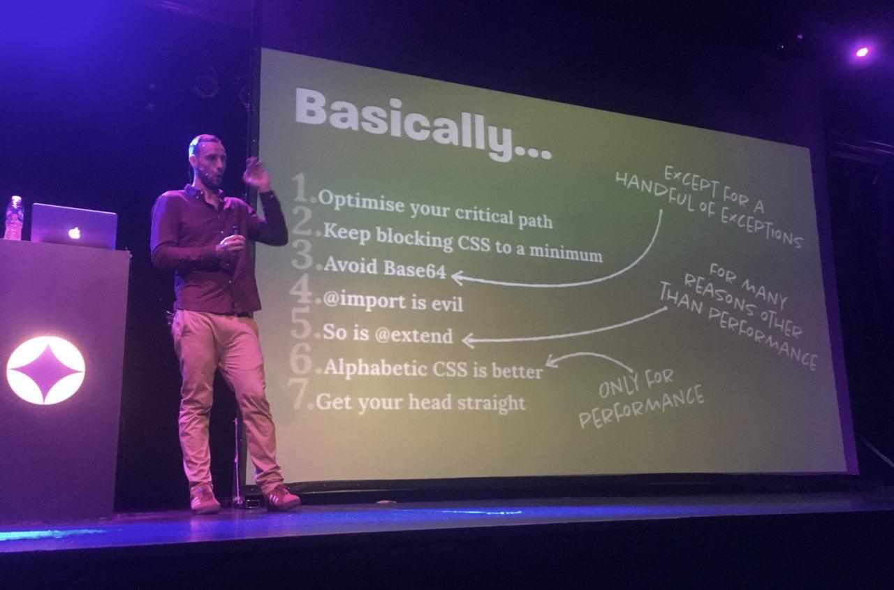 Consejos de Harry Roberts para optimizar CSS