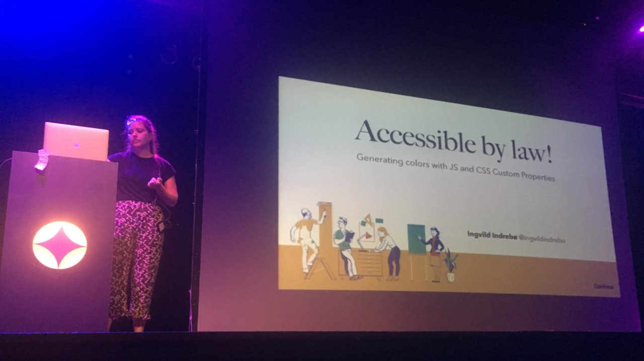 Ingvild Indrebø sobre la accesibilidad en sitios web