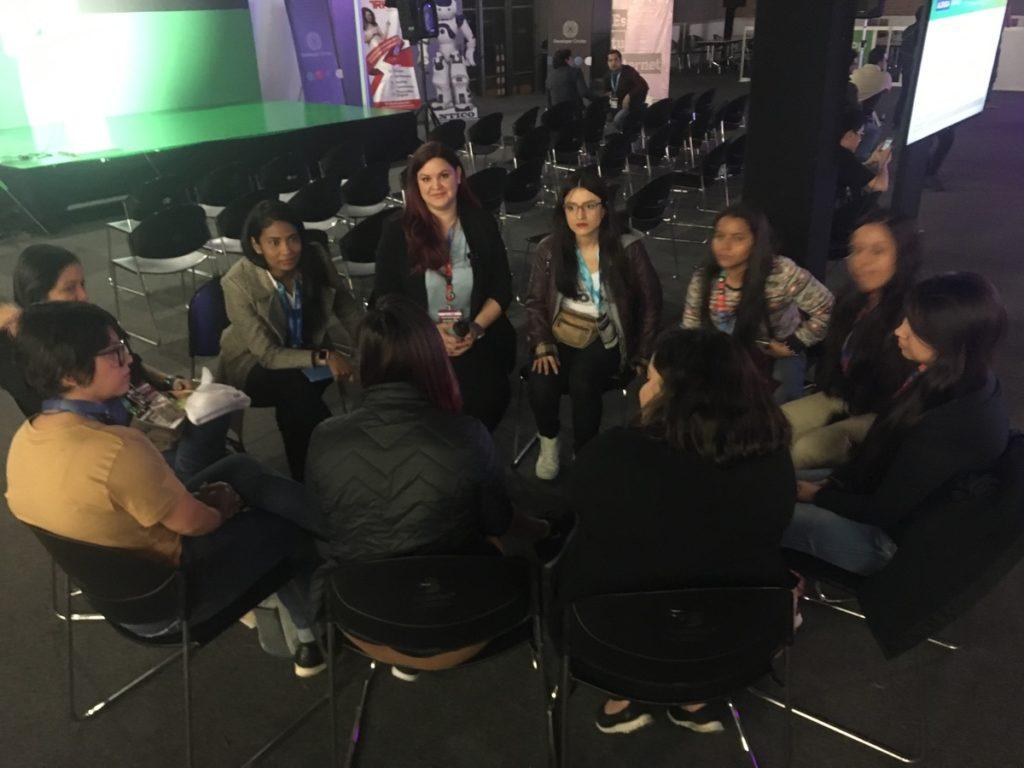 Organizadoras del Women Community Fest