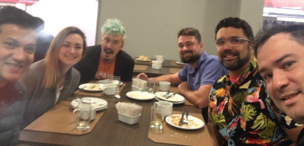 Desayunando con los ponentes del BrazilJS Conf 2019