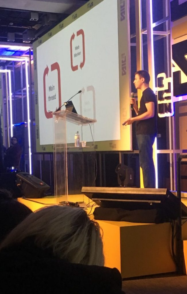Charla de Filip Stranis sobre ServiceWorkers